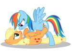 Uhm, Dashie... What Are You Do- oh...