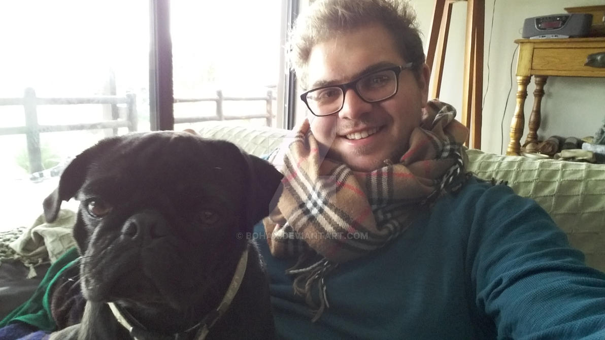 A Pug and Me by Bohax