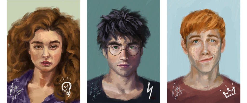 Painting practice with the Trio -HP