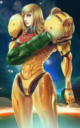 Samus by louten