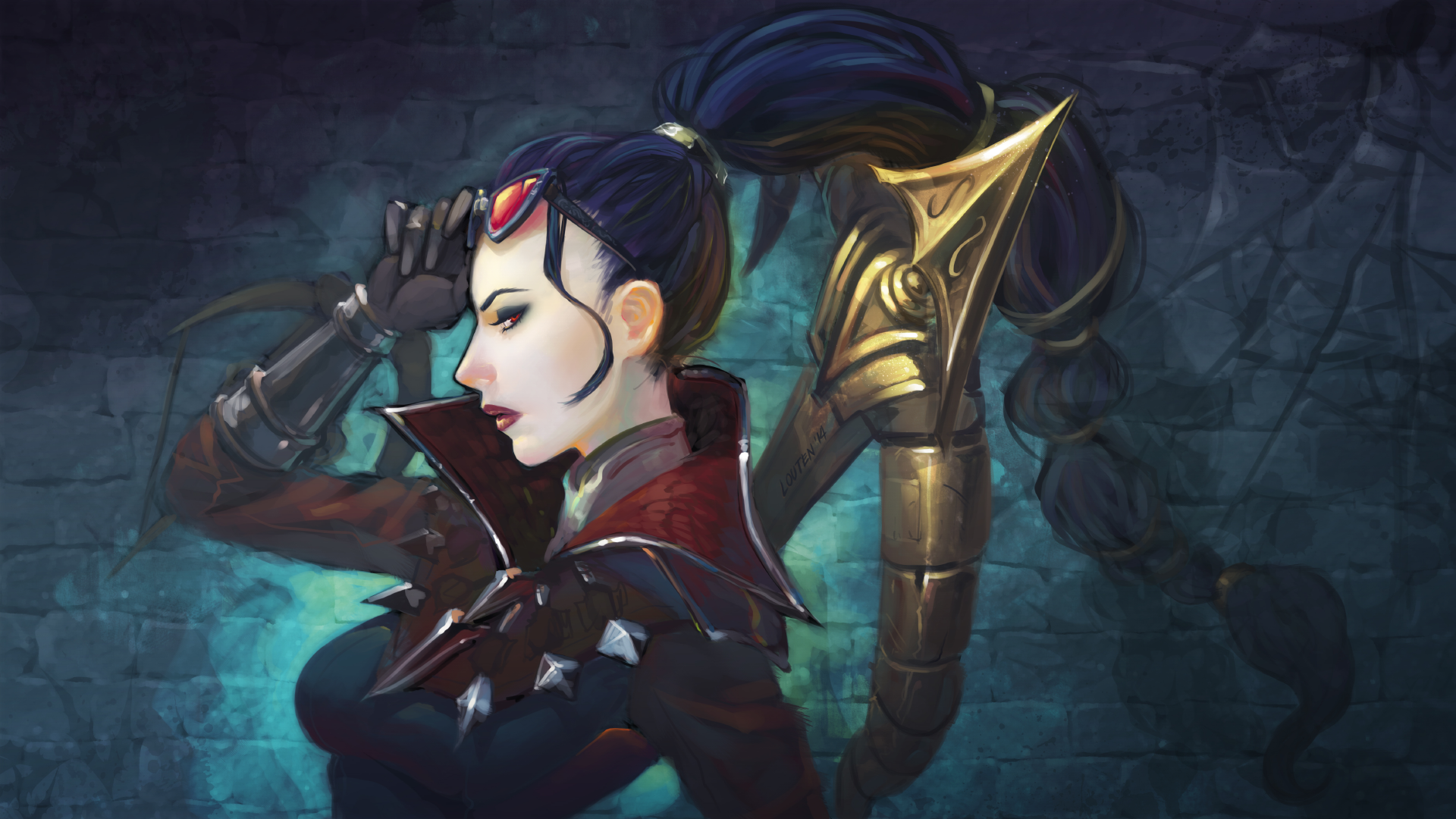 vayne Vayne draws a heavy crossbow from her back, and fires a huge bolt at her target, knocking them back and dealing damage if they collide with terrain, they are impaled, dealing bonus damage and stunning them.