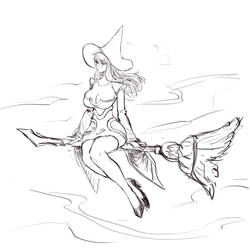 Magdalena sketch