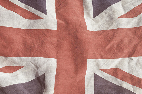 British Flag By Moustachhe