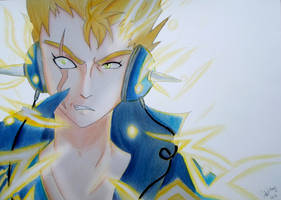 Laxus Dreyar from Fairy Tail by deehkunXD