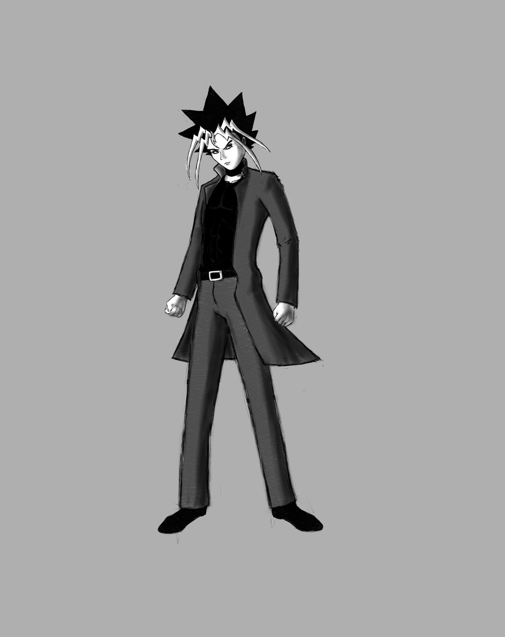 Yugioh Character Design : Motou yugi yu gi oh s character design by mchaven on