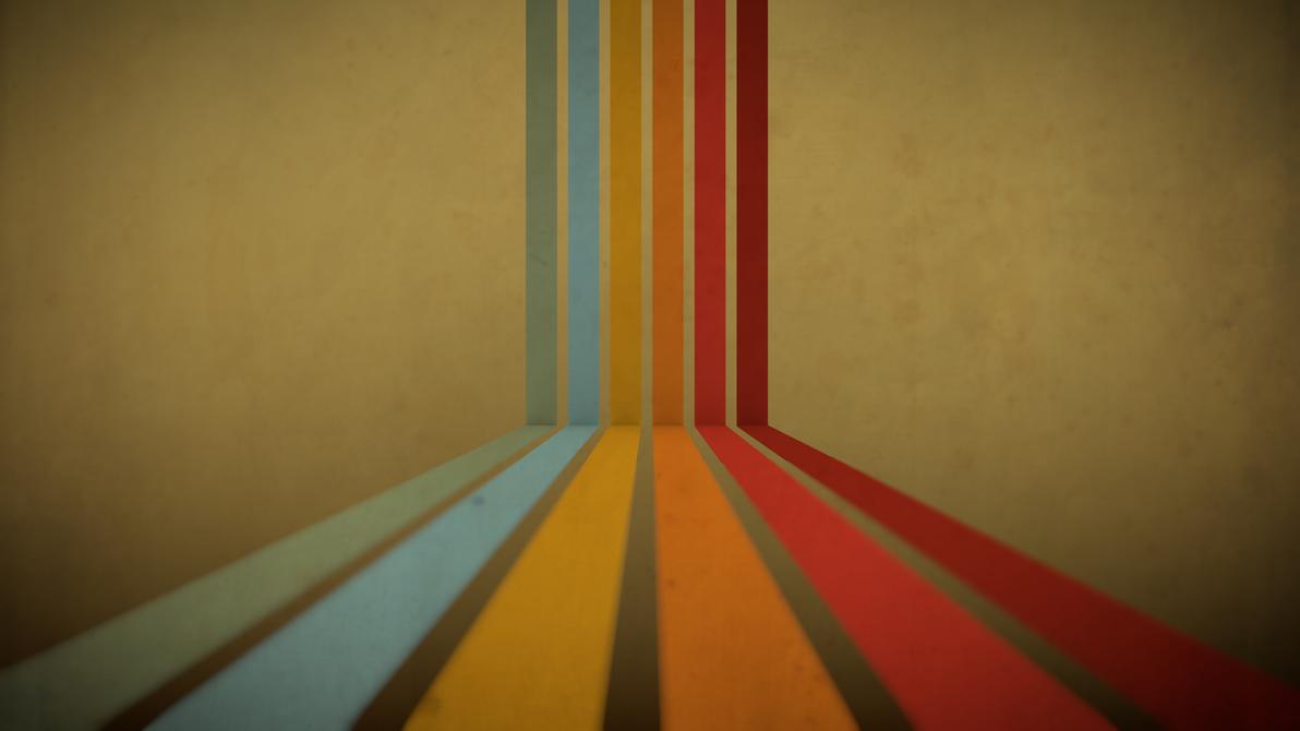 Retro Wallpaper By X11kjm