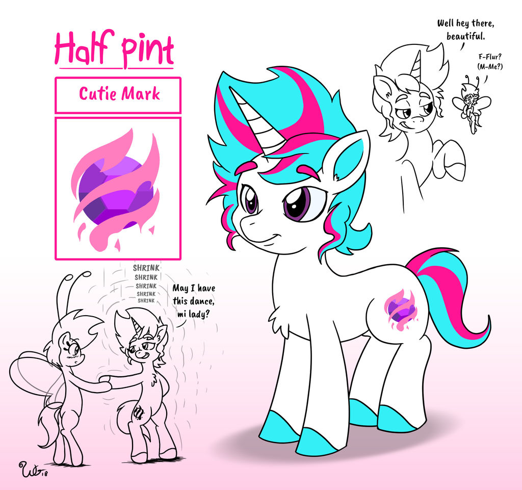 Half Pint Character Sheet (for RedSizer)
