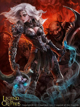 Legend of Cryptids Abby