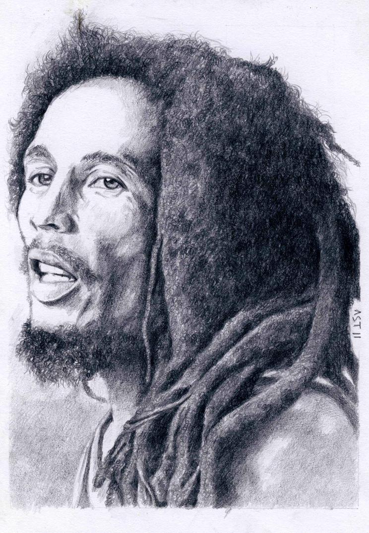 Bob Marley by Astabrata