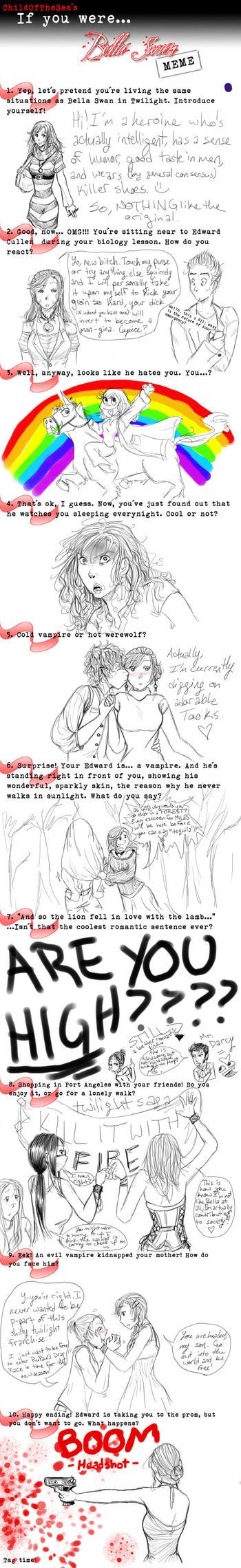 If I were -GAG- Bella Swan... by Nadeshiko-tenshi
