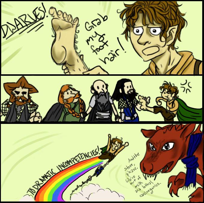 GRAB MY- The Hobbit version by Nadeshiko-tenshi