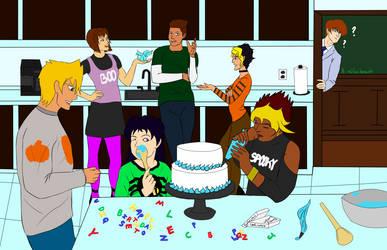 Ygotober 25 Baking Seto's Bday