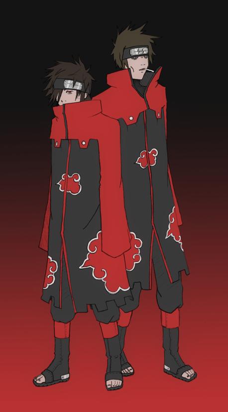 Akatsuki Reborn Joe And Luke By Su Zhe Ou Drawing Clothes