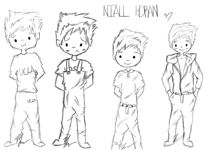Niall Horan Sketch Dump by stormypanda on DeviantArt