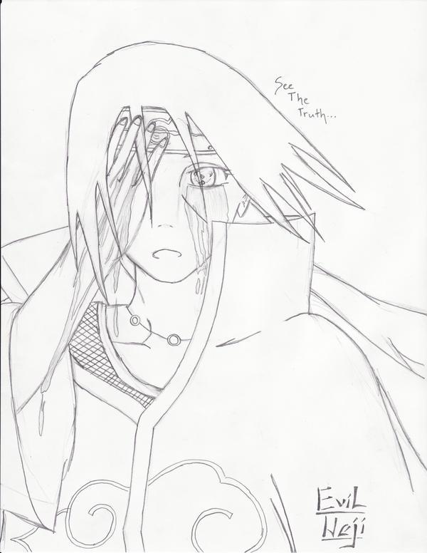 Itachi: Tears of Blood by evil-neji