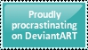 Procrastination stamp by itseva