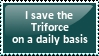 I save the Triforce stamp by itseva