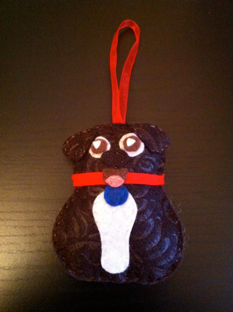 Pup ornament by akillertofu