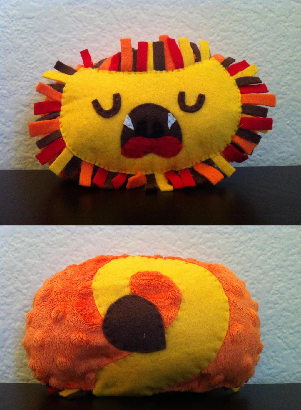 Aslan the Lion by akillertofu