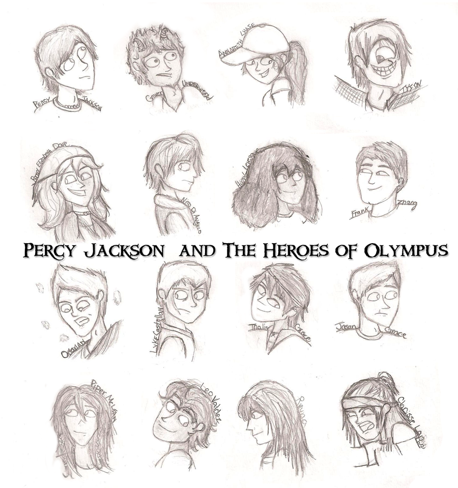 percy jackson and the heroes of olympus by canadian
