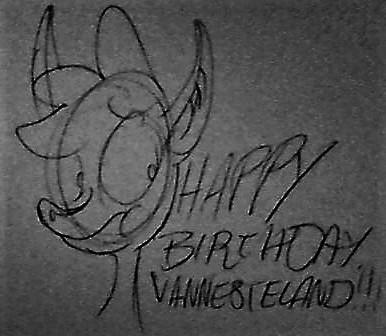 Happy Birthday, VannesteLand! by OldandNewShowsForevs