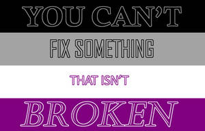 You Can't Fix Something that Isn't Broken by SkyDreamer-Nya