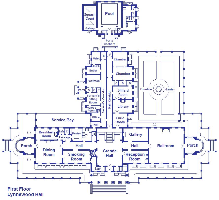 Lynnewood Hall First Floor By Viktorkrum77 On Deviantart