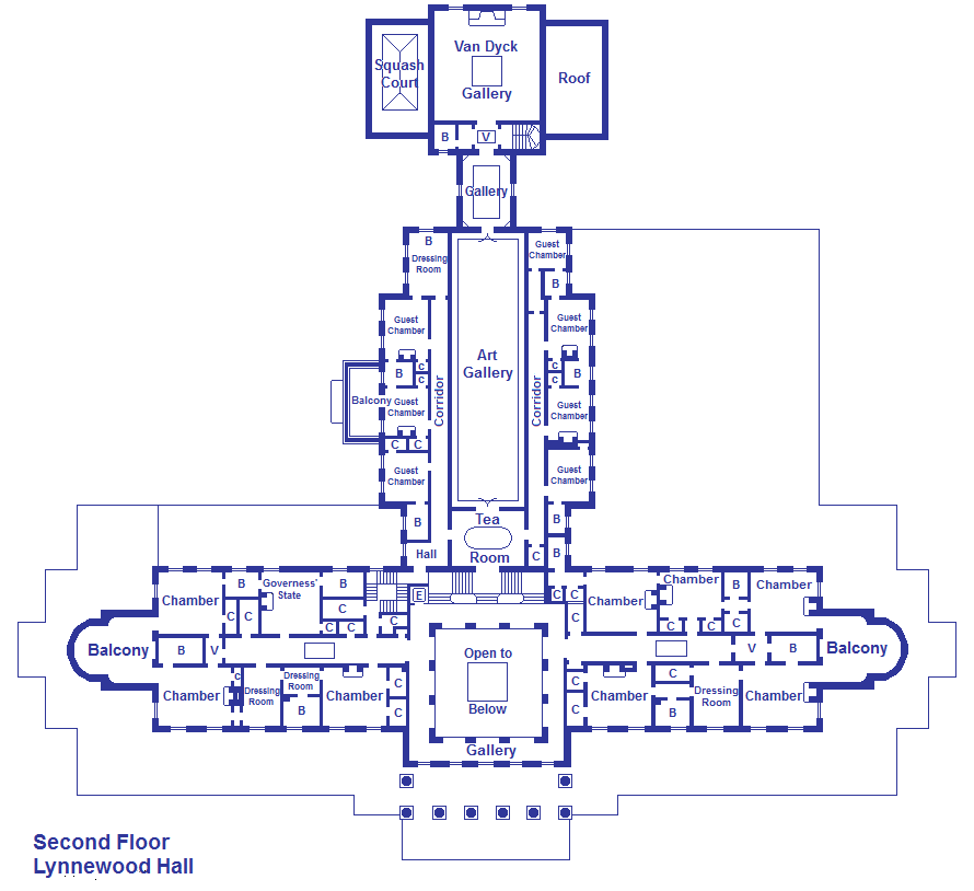 Lynnewood Hall Second Floor By Viktorkrum77 On Deviantart