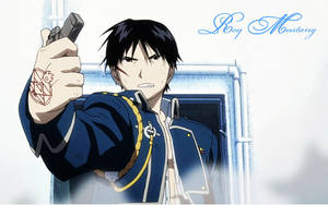 Roy Mustang Wallpaper by Dragonstar496