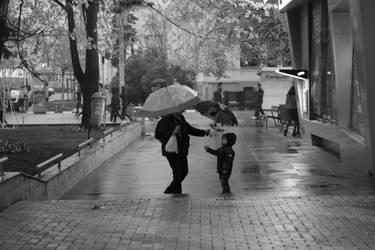 rainy days by SorinDanut