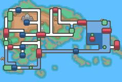 Hoenn map, HGSS style by pwassonne