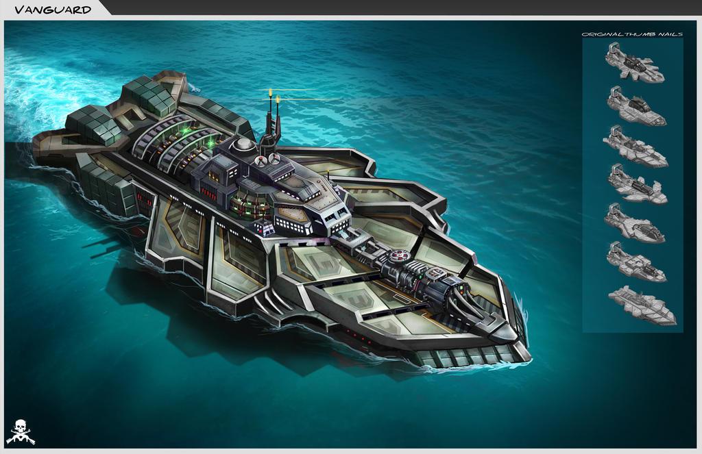 Battle Pirates Vangaurd by Mr-Donkeygoat