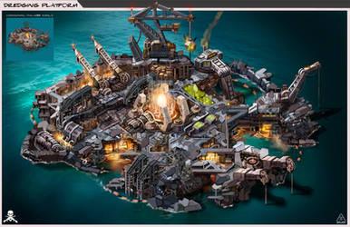 Reaver Dredging Platform by Mr-Donkeygoat