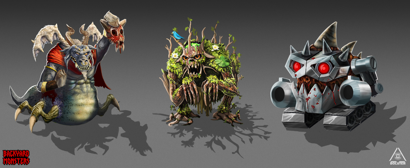 game development art 2d game art characters animals monsters 2014 2017