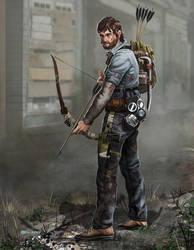 Zombie Apocalypse survivor: Alan by Mr-Donkeygoat