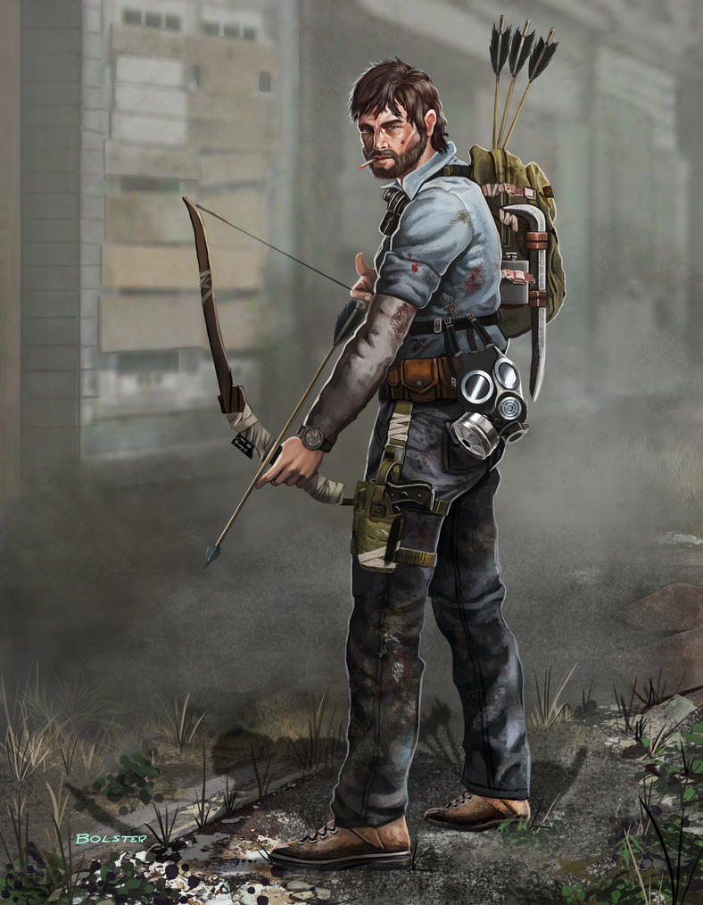 Zombie Apocalypse survivor: Alan by Mr-Donkeygoat