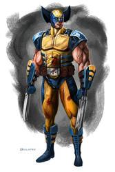 Wolverine sketch by Mr-Donkeygoat