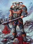 Silver Fox Viking Skin concept by Mr-Donkeygoat