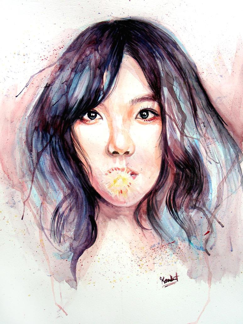Taeyeon - Blossom by demi-god666