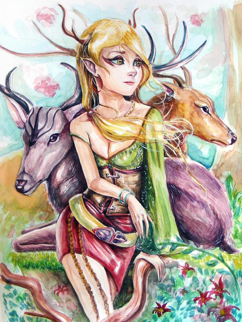 Araswen by demi-god666