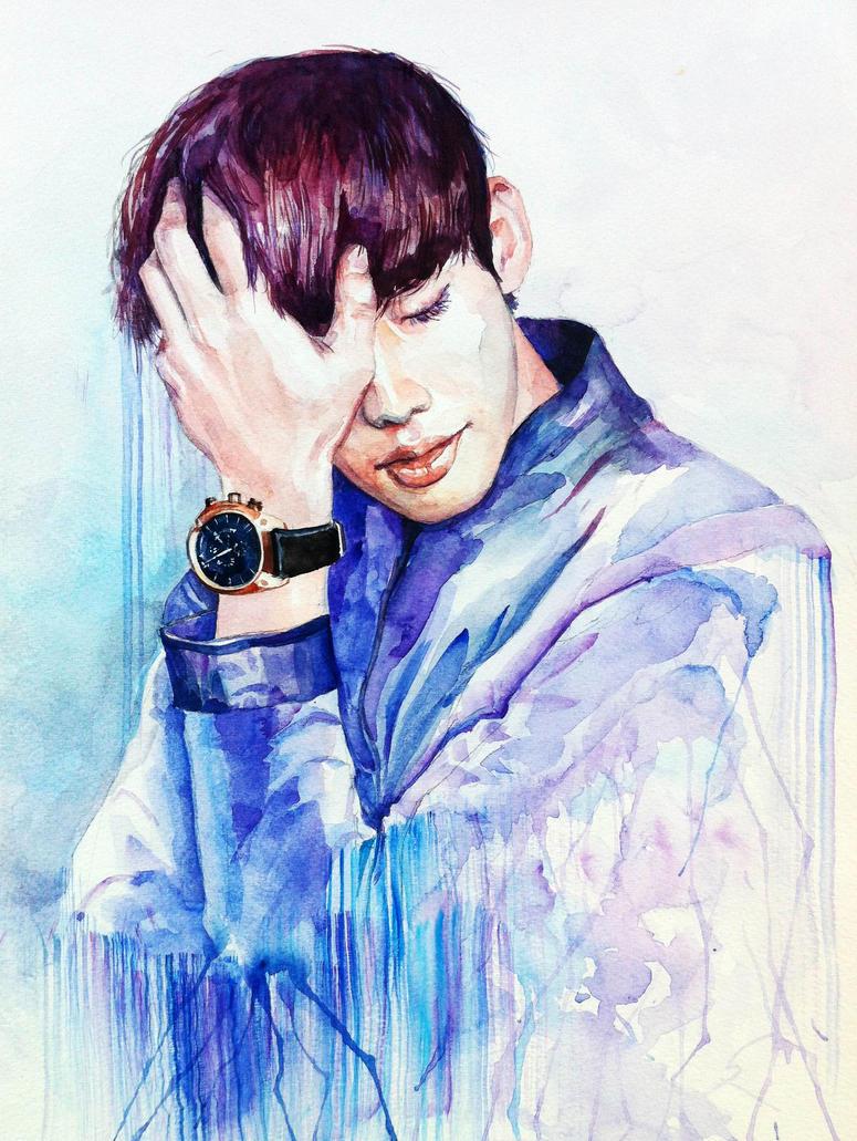 Feeling A Little Blue by demi-god666