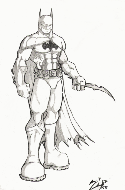 batman by ZipAlegria