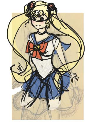Sailor Moon Crystal starts tomorrow!!1 by rennie-sama