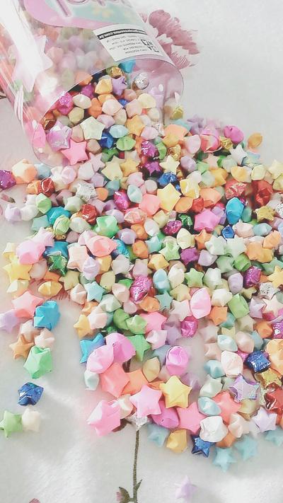 Origami stars 2 by rennie-sama