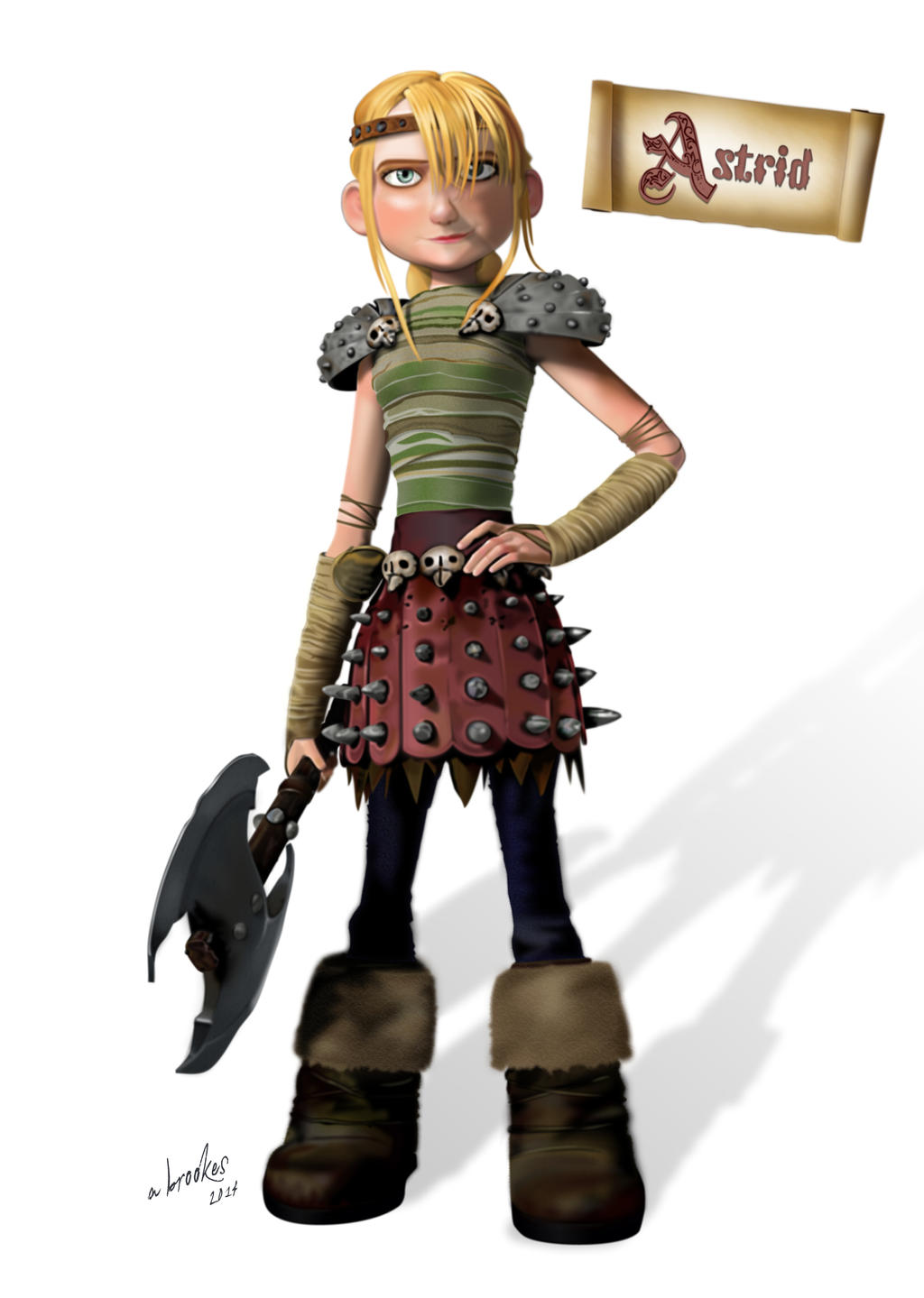 How to train a dragon girl astrid  nackt picture