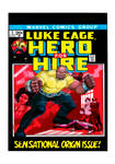 Luke Cage #1 Cover Recreation by REHone