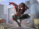 Miles Morales Spiderman TRACK suit