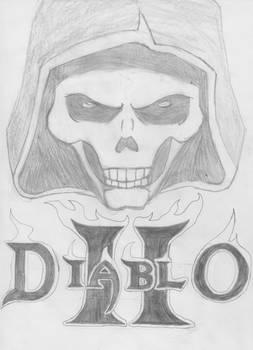 Diablo II Cover Sketch