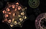 Colored Magic Circles