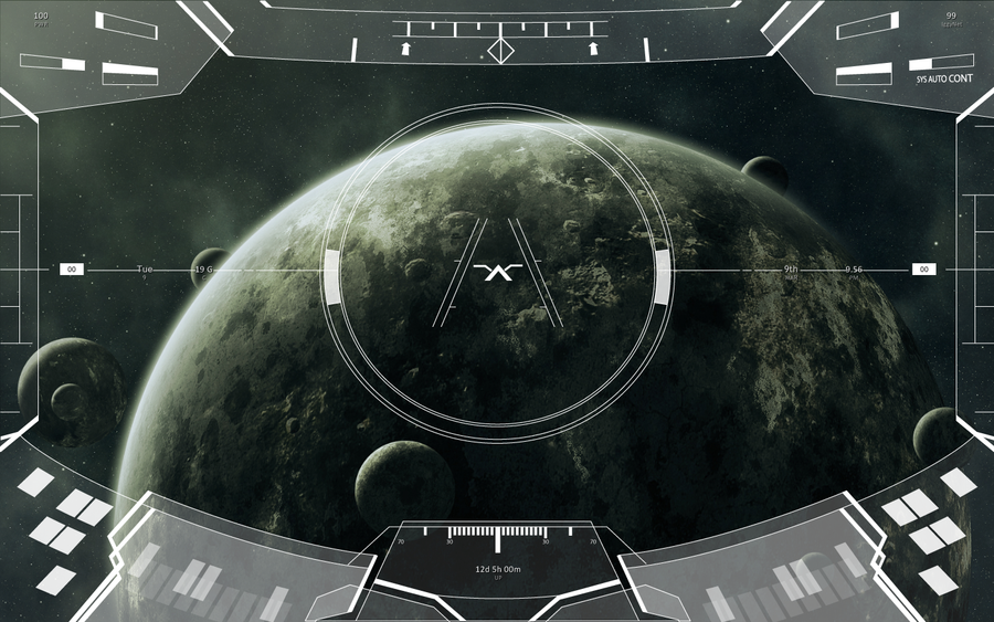 Halo Prototype HUD Rainmeter by Entereri